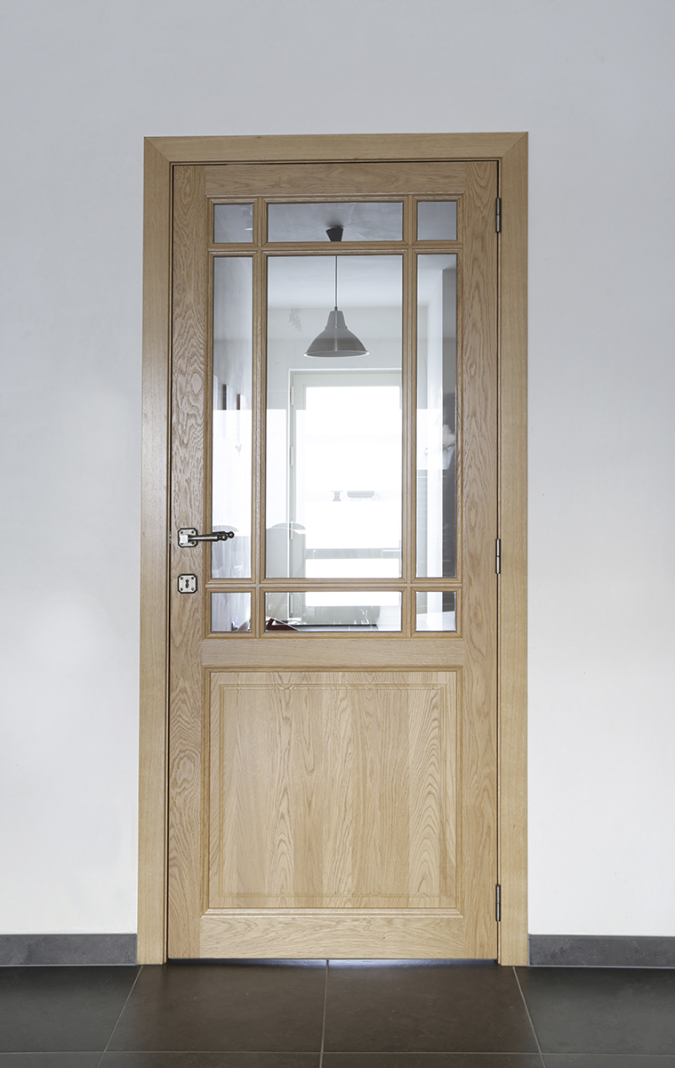 D 39 hondt interieurpaneeldeur met glas in pastorijstijl d for Dhondt interieur